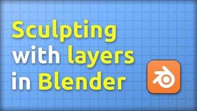 Non-destructive sculpting in Blender with Shape Keys
