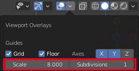 Set the Subdivisions to 1 to disable automatic grid snapping adjustements in the 2D viewport